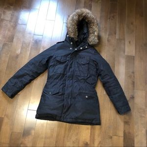TNA down filled coat size XS